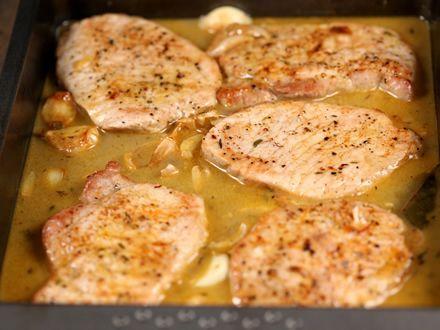 5 felii cotlet de porc groase de 1 cm (poate fi co...