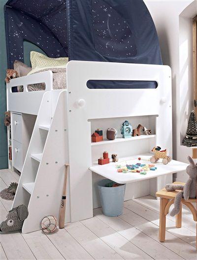 best 25 lit enfant sureleve ideas on pinterest lit. Black Bedroom Furniture Sets. Home Design Ideas