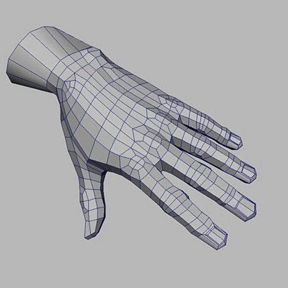 hand topology: