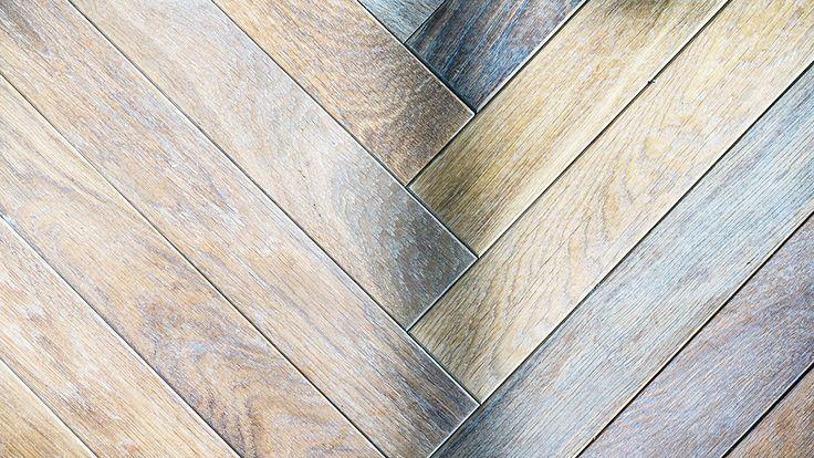French Oak Herringbone Timber Floors by Windsor Parquet