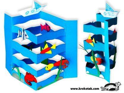 Поделка на морскую тему - Сайт для мам малышей