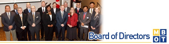 The Board of Directors is the governing body which effects and establishes policy for #Mississauga Board of Trade. Together with Executive Committee, it serves as the decision maker for the organization, and works to create a meaningful strategic direction and ensure the financial well-being of #MBOT.