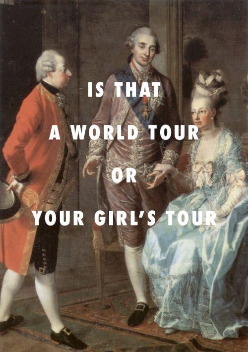 flyartproductions: Louis XVI wanna be a thug for Marie Antoinette Louis XVI, Marie Antoinette and Archduke Maximilian of Austria (1775), Josef Hauzinger / Back to Back, Drake