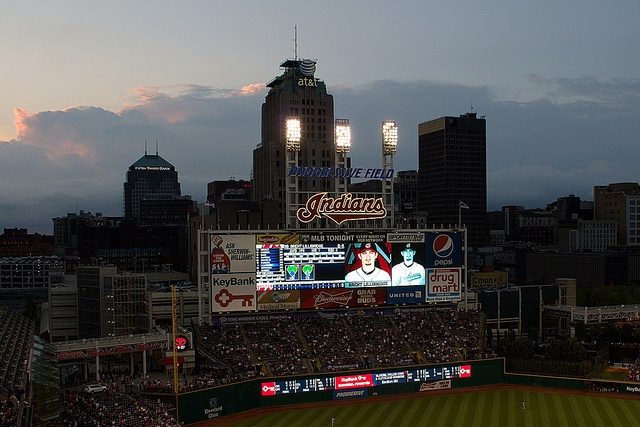 The scoreboard at Progressive Field is seen as the Sun is setting over the game between the Cleveland Indians and the Boston Red Sox. I shot this at a game between the Cleveland Indians and the Red Sox at Cleveland's Progressive Field on August 11, 2 Searching for Cheap Cleveland Indians Tickets?  Get Great Deals On Cleveland Indians Tickets Here.