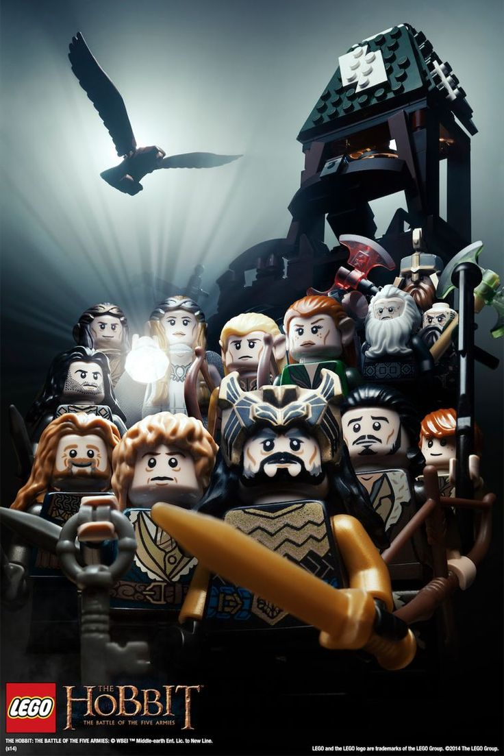 I would like to have all those LEGO miniatures! LEGO - The Hobbit<---I'm about half way there!