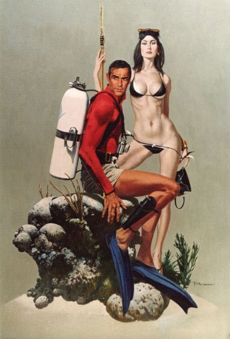 Robert McGinnis - Thunderball                                                                                                                                                                                 More
