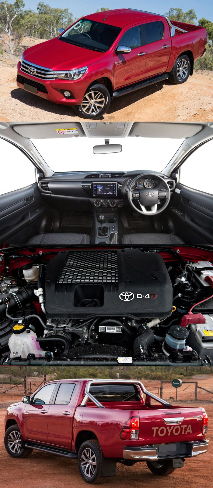 The Extra Practical Toyota Hilux with Plenty of Standard Kit For more details at: http://www.reconditionengines.co.uk/rec-model.asp?size=2.8&part=reconditioned-toyota-hiluxdieselpickup-engine&mo_id=31433