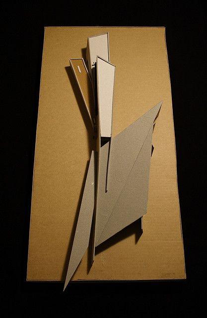 Architectural Model - Vitra Fire Station, Zaha Hadid Architects