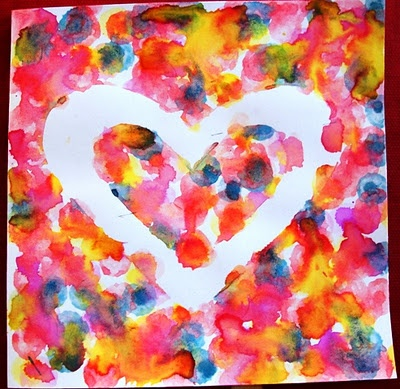 Dot Marker Valentine Art