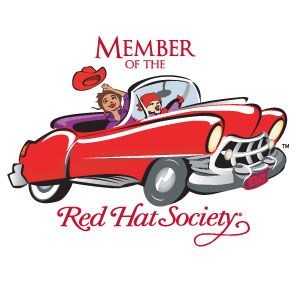 Red+Hat+Society | Red Hat Society Name Badge Artwork # S7