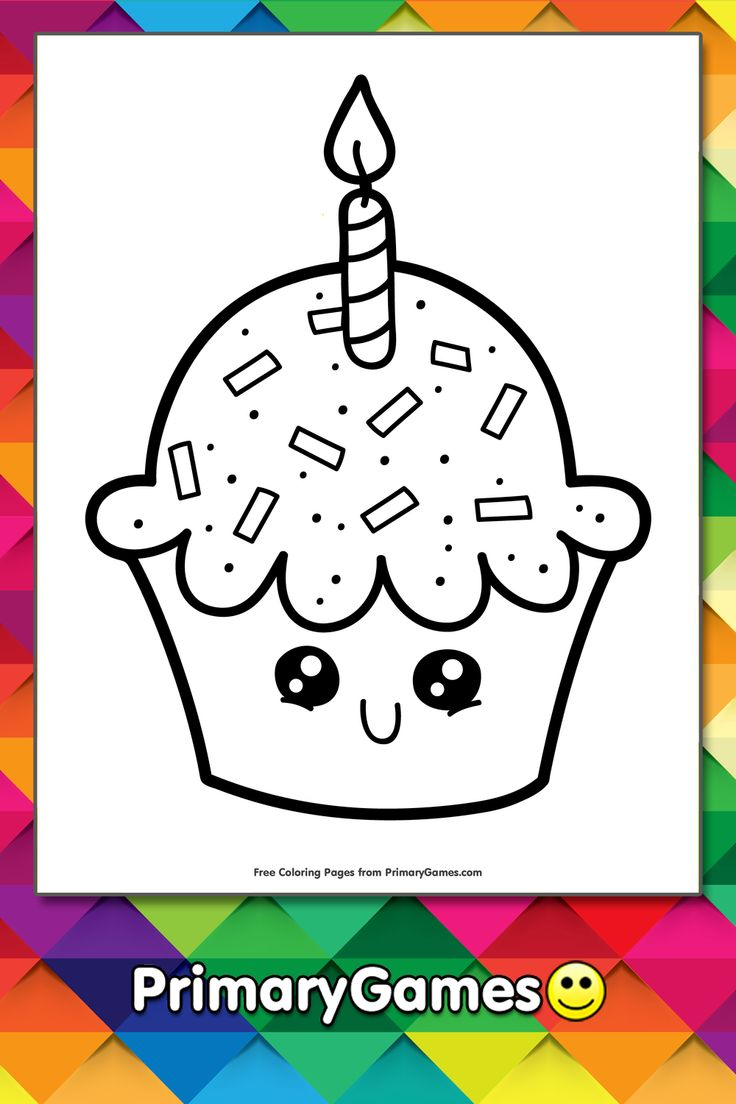 42+ Cupcake coloring pages pdf ideas