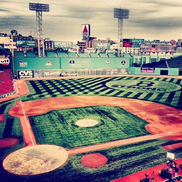 Fenway Park! Life long dream to be at this park,