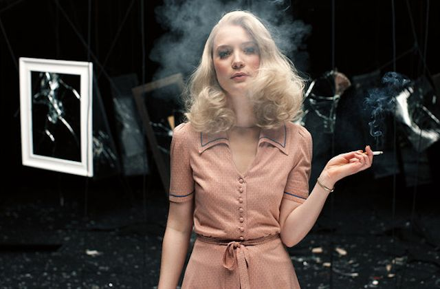 """Mia Wasikowska in """"A Touch of Evil"""" by Alex Prager."""