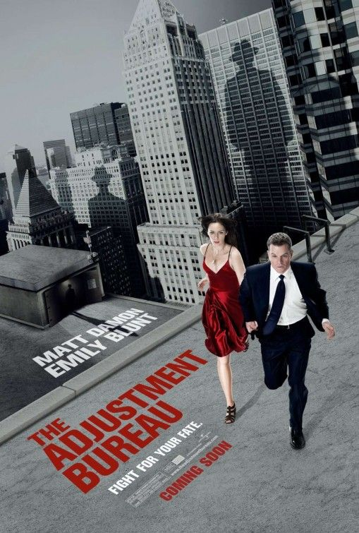 The Adjustment Bureau I guardiani del destino #thriller - #fantascienza - #romantico