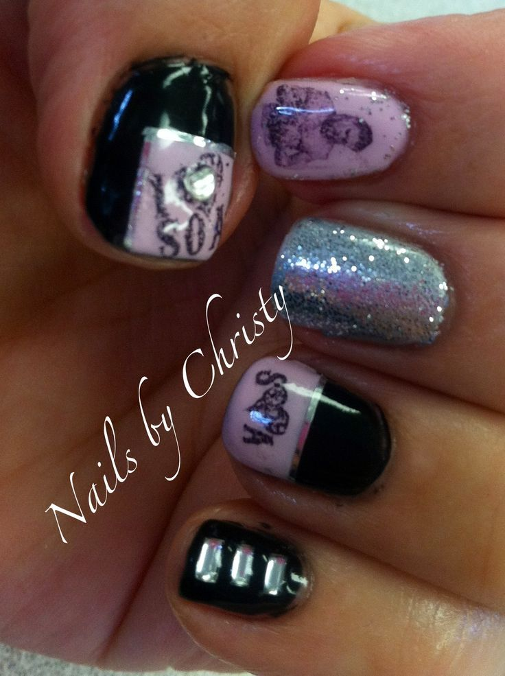 Fancy Nails 2526 N Belt Line Rd: 1000+ Images About Sons Of Anarchy Nail Art On Pinterest