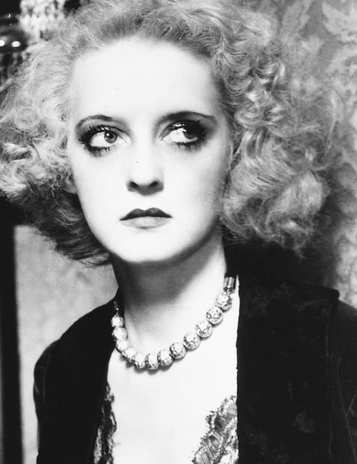 Bette Davis as Mildred Rogers in Of Human Bondage (John Cromwell, 1934)