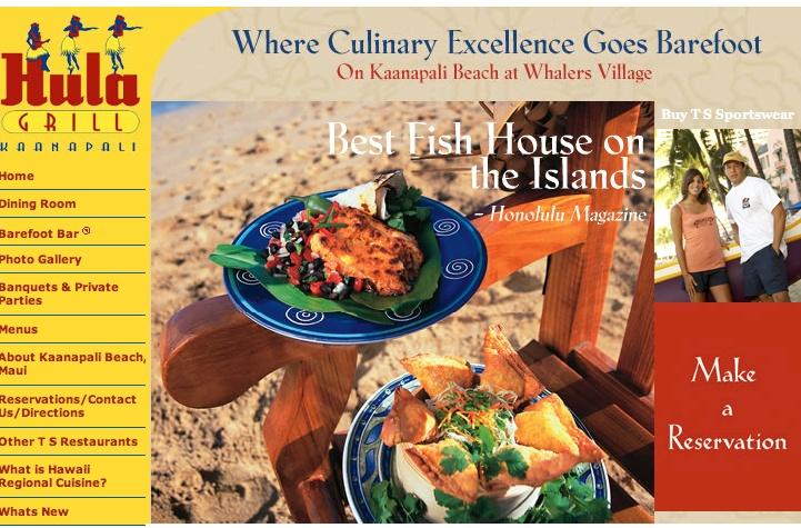 Ka'anapali restaurant - reasonable - rated #1 on tripadvisor