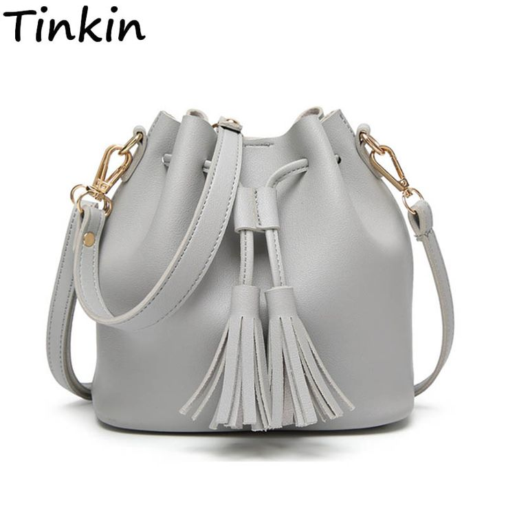 Tinkin Summer Tassel Women Shoulder Bag Casual Messenger Bag All-match Women Bag Color:brown,gray,green //Price: $22.50 & FREE Shipping //     #HALOWEEN