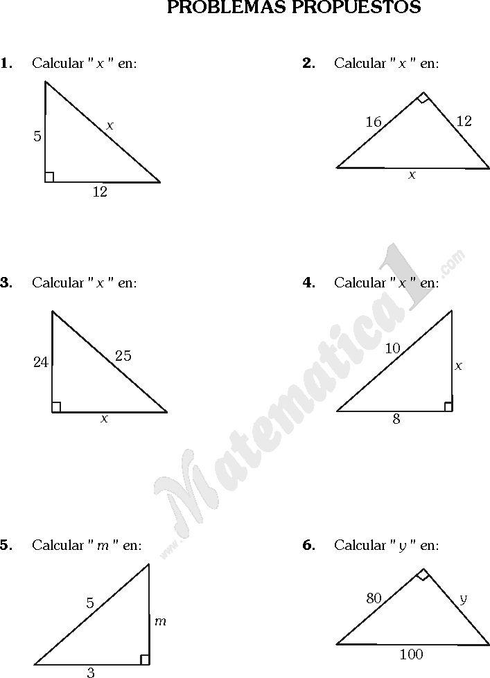 Geometría. Triángulos - Lessons - Tes Teach