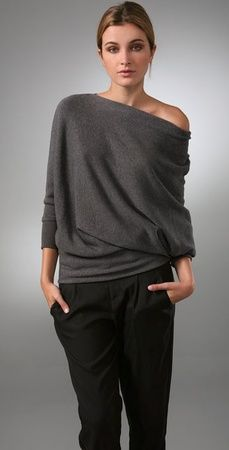 :: FASHION :: one of my favourites, my Vince Wedge Tunic Sweater #fashion