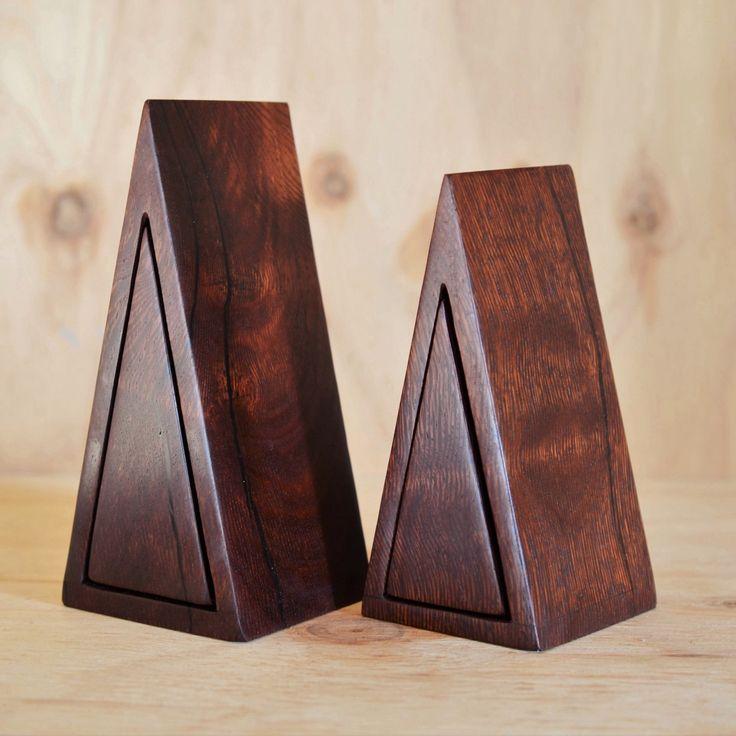 Woody Pear Isosceles boxes