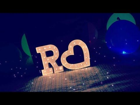 R Name Status Video S Youtube Stylish Alphabets Picture Letters Alphabet Letters Design