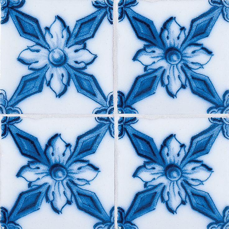 Estrella Glazed Ceramic Tiles 6x6 - Country Floors of America LLC.