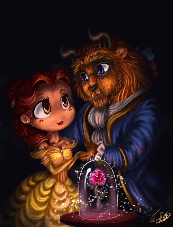 Belle and the Beast, by Rue789