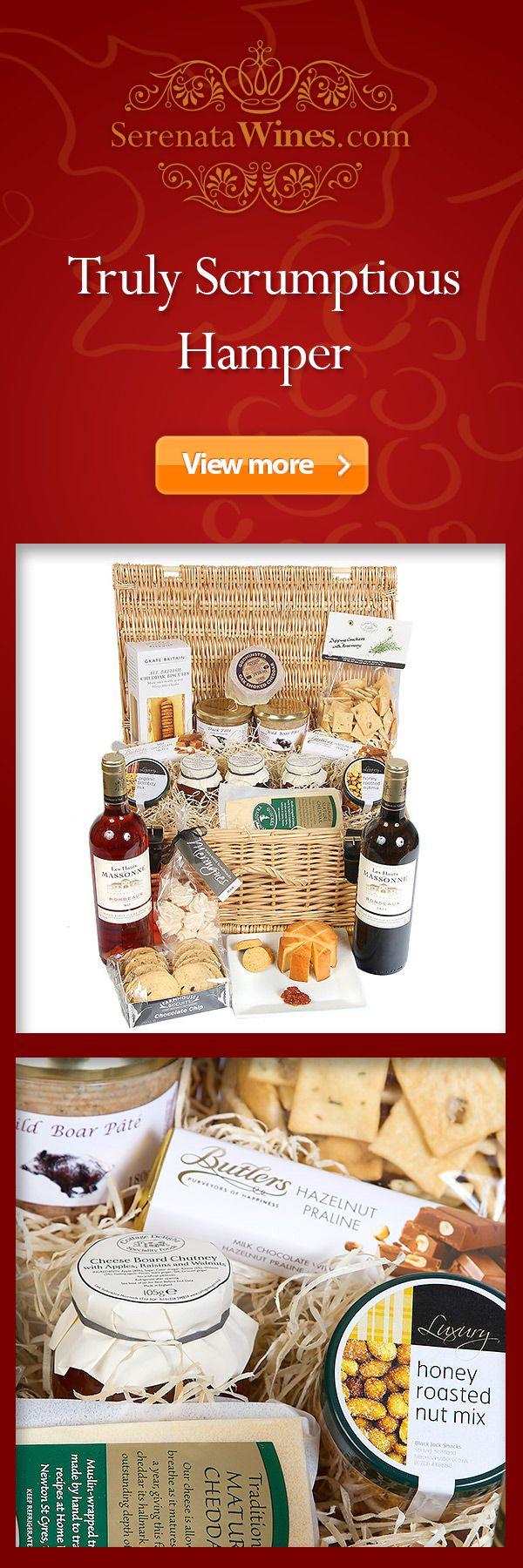 #wine #hampers #gits #winehampers #winedelivery #wicker #wickerhamper #basket #serenatawines