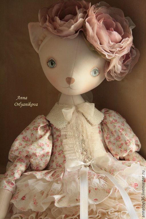 Купить Алиса - кукла ручной работы, кукла, кошка, авторская ручная работа, авторская работа
