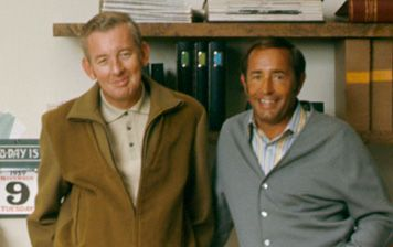 Amway Founders, Jay Van Andel & Rich Devos in the beginning. For more info go to: http://www.thinkgreenfootsteps.com