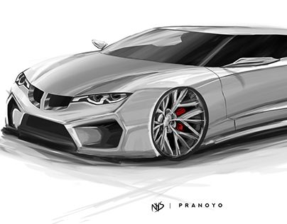 """Check out new work on my @Behance portfolio: """"BMW Sketch 