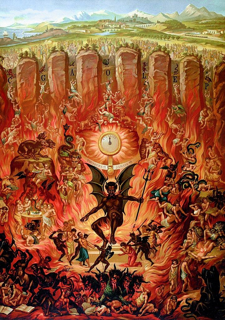 Medieval Art Hell 119 best images about ...