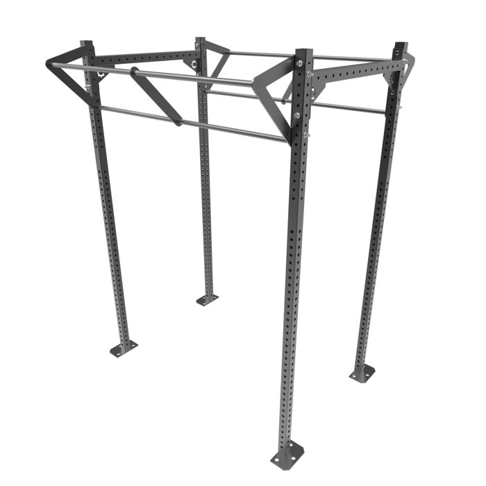 IA RIG - 2 Squat Bays - Wide Duo Bar MADE TO ORDER 3 - 6 WEEKS