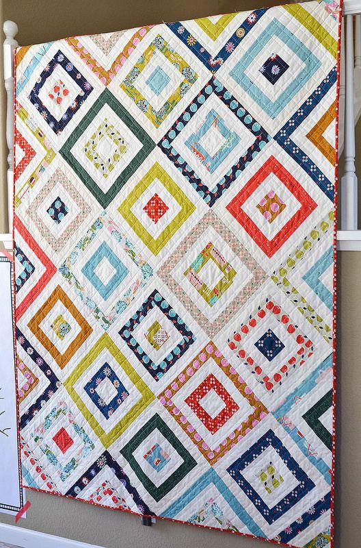 picnic basket quilt - http://www.kitchentablequilting.com/2015/11/picnic-basket-quilt.html?m=1