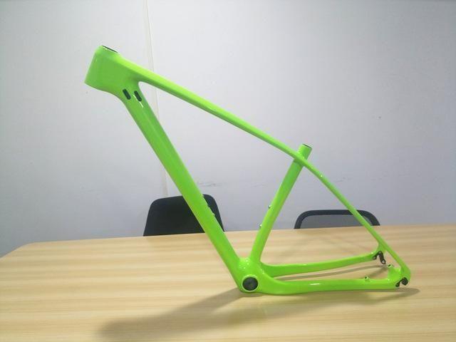 29er/27.5er Carbon Mountain Bike Frame MTB Frame 27.5 Carbon Fiber MTB Frame 650B 2017 Carbon MTB Frame 27.5ER with BB&shafter