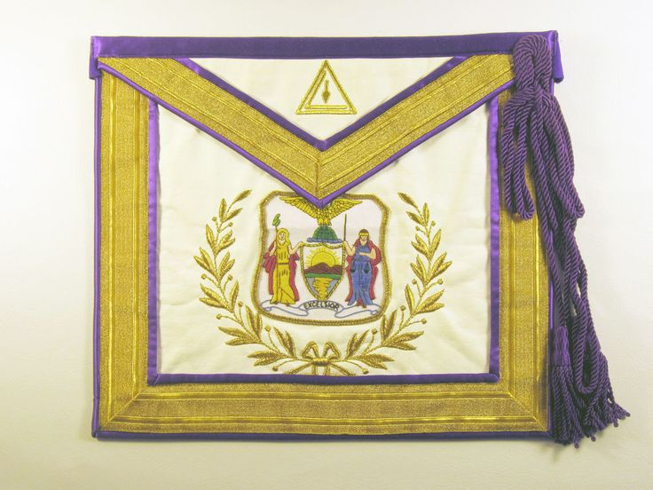 Royal and Select Masonic Apron