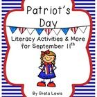 These activities are themed around Patriot's Day {September 11th} but many of the activities could be used for other patriotic holidays too!