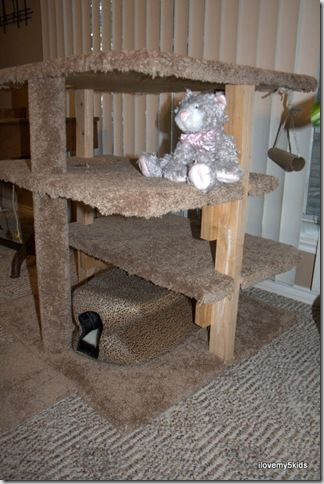 Best 20+ Cat Play Tower ideas on Pinterest | Cat play rooms, Cat ...