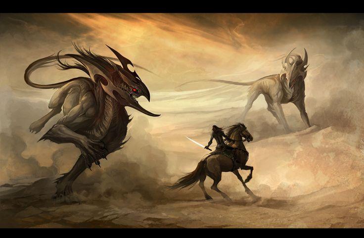 desert demons by sandara on deviantART
