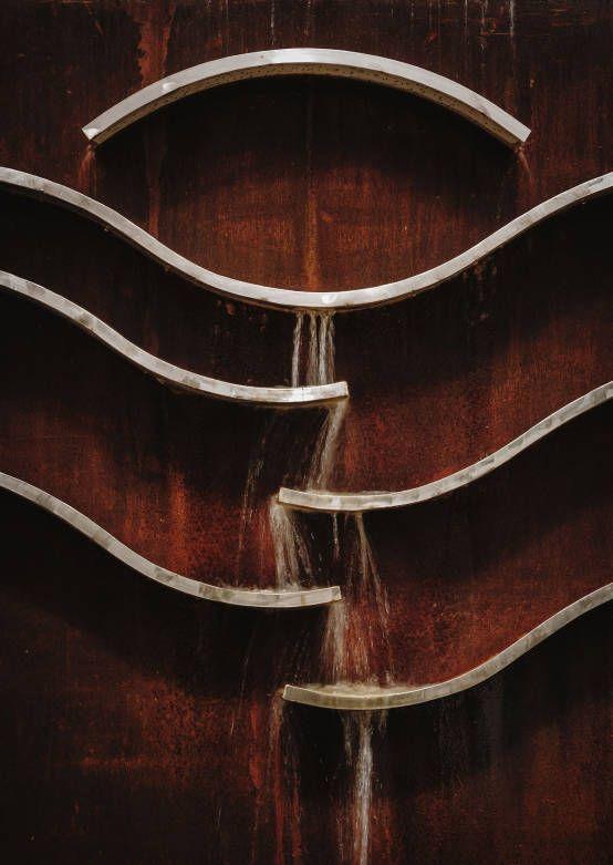 Detalle fuente : Balcones y terrazas de estilo moderno de Slabon Forja Creativa