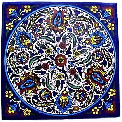 Armenian design ceramic tile