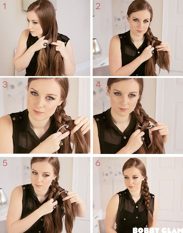 Four Strand Braid step by steps