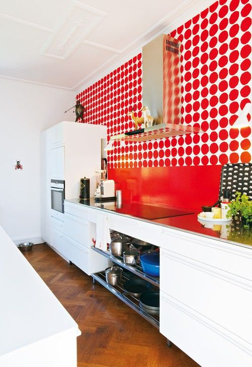 Marimekko, how about cooking in a kitchen like this?