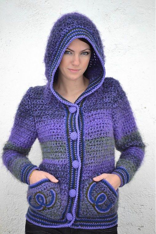 Video Guia de como tejer este sweter con gorra!! no se aun cuantos videos necesite para terminarla vayan siguiendo cada video que les suba al respecto! la im...