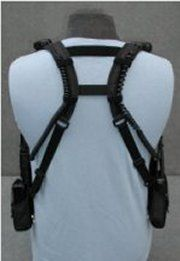 Universal Shoulder Holster for two mobile radios, Motorola two way radio, Radio Holster, Two Way Radio Holsters, Caldwell Mobile Accessories