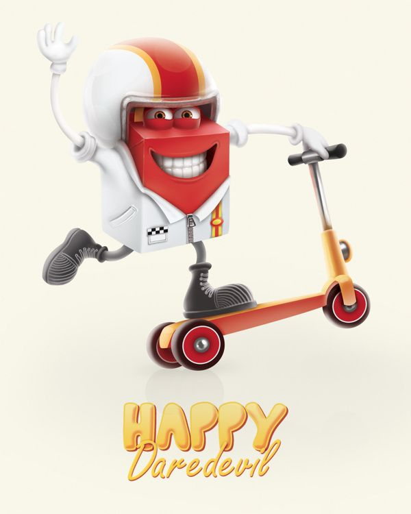 MC DONALD'S - HAPPY MEAL | Cards Game characters by Alice Mounoury et Danaé Bilheude , via Behance