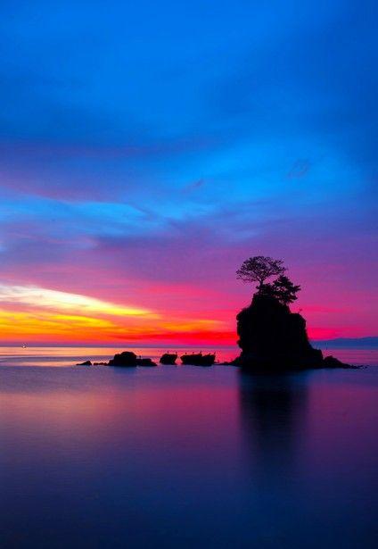 美風の水面 | 自然・風景 > 海の写真 | GANREF