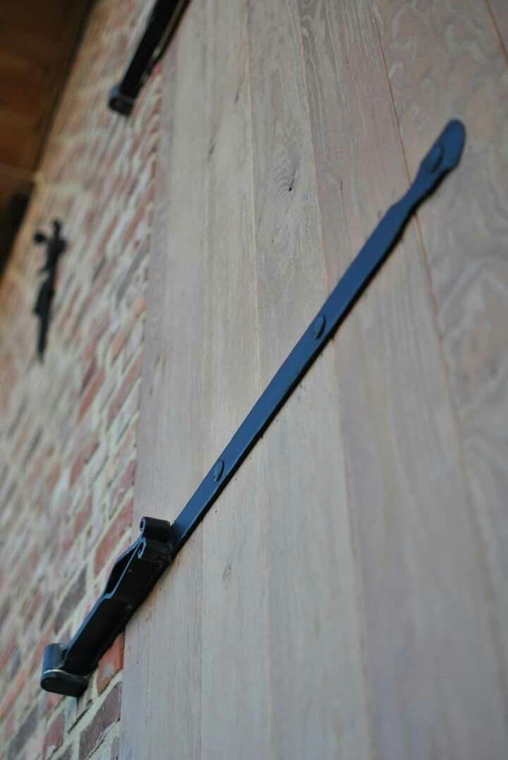Smeedijzeren landelijke scharnier www.vrolix-metaalbewerking.be