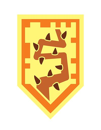 LEGO Nexo Knights schild (shield) scannen - Ripping Thorns - No one can escape! Buy Lego Nexo Knights on: https://www.olgo.nl/lego/lego-nexo-knights.html